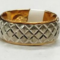 14KT Two Tone Ring