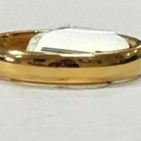 10KT Yellow Gold Band