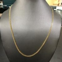 14KT Yellow Gold Gucci Necklace