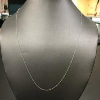 10KT White Gold Necklace